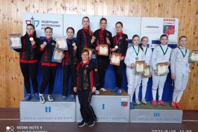 Итоги первенства центрального федерального округа по фехтованию среди девушек г. Смоленск 2021 г.