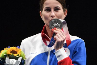 Инна Дериглазова завоевала серебро Олимпийских игр в Токио